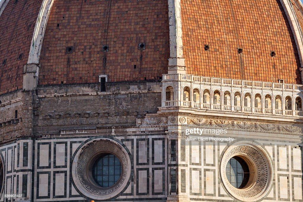 Dome of Basilica di Santa Maria del Fiore : Foto de stock