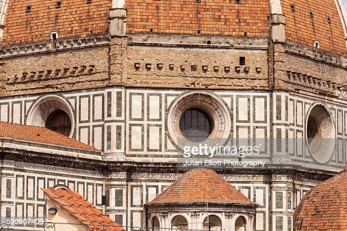 Dome of Basilica di Santa Maria del Fiore : Stock Photo