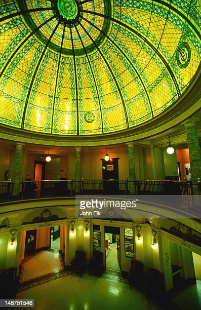Dome of Pacific County Courthouse.