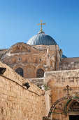 Dome of the  Church  Holy Sepulchre