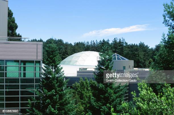 Dome of the planetarium at the Chabot Space and Science center a science museum in Oakland California June 15 2017