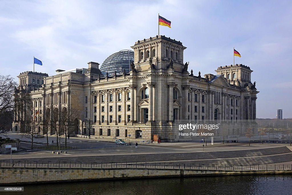 Dome of the Reichstag Building, Berlin, Germany