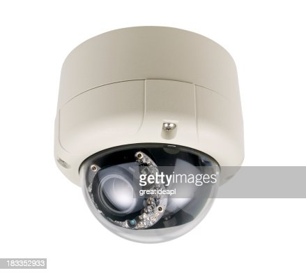 Dome Security Camera with IR illuminator