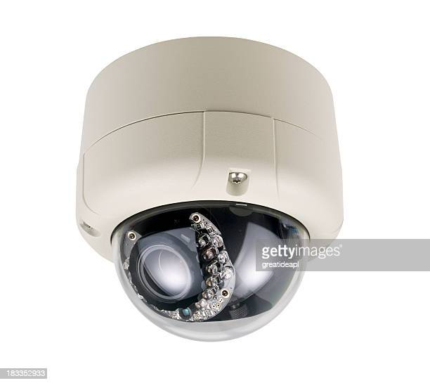 Dome Security Camera with IR illuminator