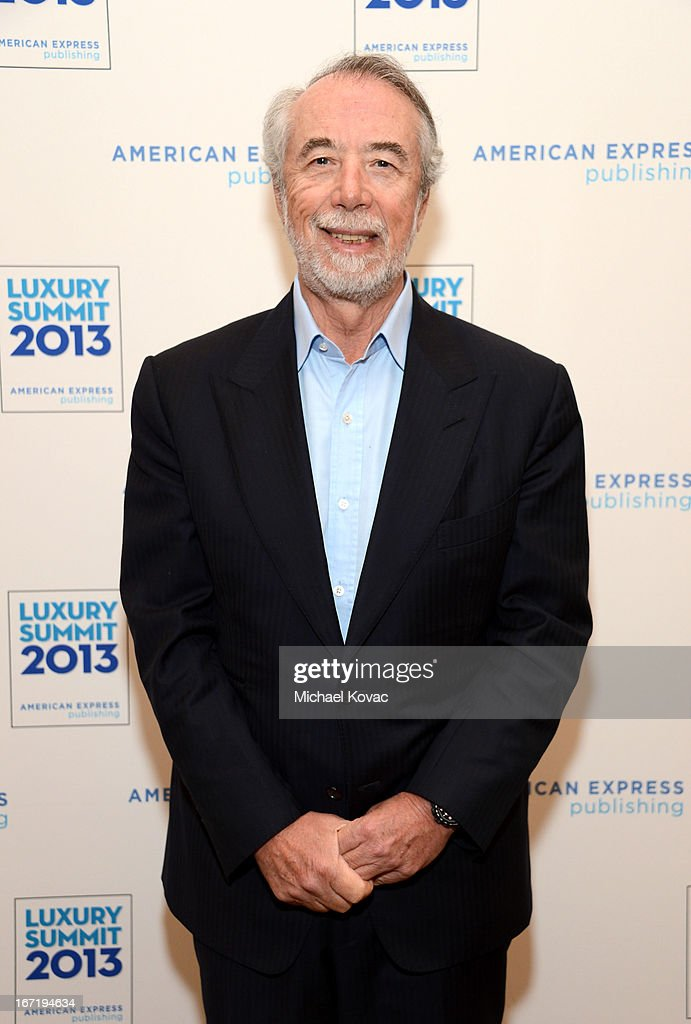 Domenico De Sole, Chairman, Tom Ford Internatinal attends The American Express Publishing Luxury Summit 2013 at St. Regis Monarch Beach Resort on April 22, 2013 in Dana Point, California.