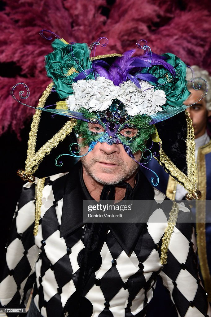 Domenico Dolce attends the 'Ballo in Maschera' to Celebrate Dolce&Gabbana Alta Moda at Palazzo Pisani Moretta on July 6, 2013 in Venice, Italy.
