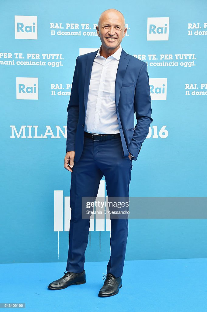 Domenico Iannacone attends Rai Show Schedule Presentation In Milan on June 28, 2016 in Milan, Italy.