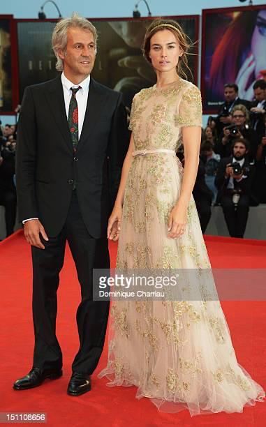 Domenico Procacci and Kasia Smutniak attend 'The Master' Premiere during the 69th Venice Film Festival at the Palazzo del Cinema on September 1 2012...