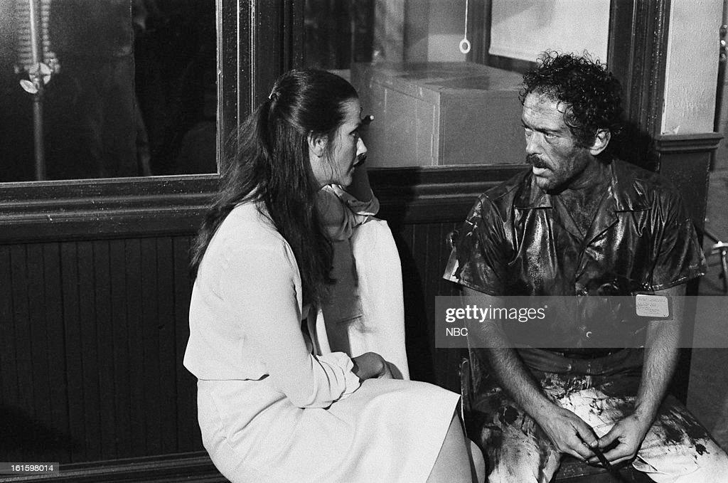 BLUES 'Domestic Beef' Episode 302 Pictured Veronica Hamel as Joyce Davenport Bruce Weitz as Det Mick Belker