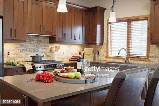 Domestic kitchen : Stock-Foto