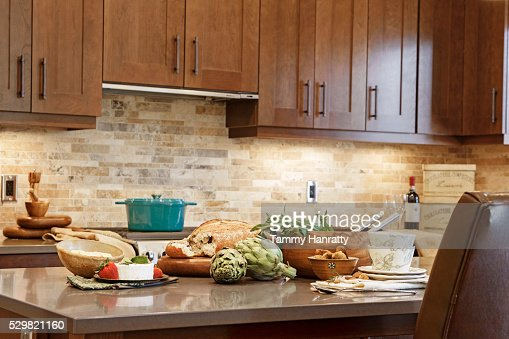 Domestic kitchen : Stock-Foto