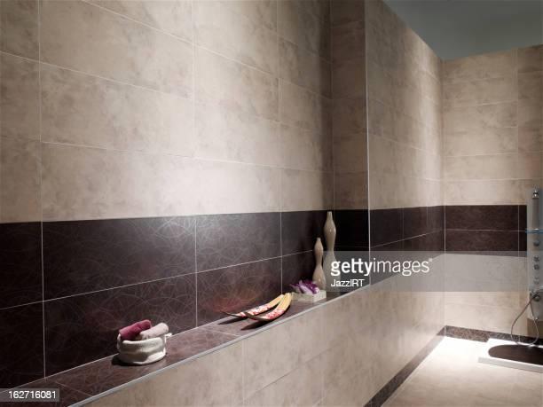 Intérieur de nouvelles salles de bains
