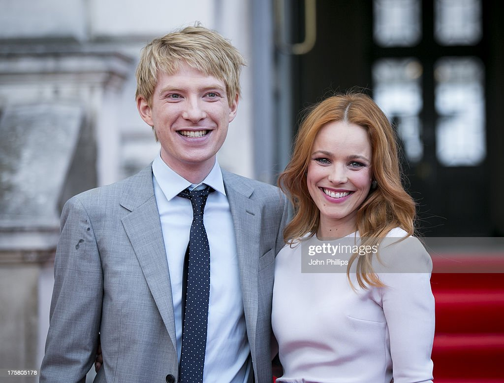 <a gi-track='captionPersonalityLinkClicked' href=/galleries/search?phrase=Domhnall+Gleeson&family=editorial&specificpeople=653261 ng-click='$event.stopPropagation()'>Domhnall Gleeson</a> and <a gi-track='captionPersonalityLinkClicked' href=/galleries/search?phrase=Rachel+McAdams&family=editorial&specificpeople=212942 ng-click='$event.stopPropagation()'>Rachel McAdams</a> attend the world premiere of 'About Time' at Somerset House on August 8, 2013 in London, England.