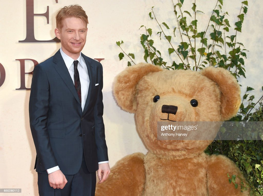 Domhnall Gleeson attends the 'Goodbye Christopher Robin' World Premiere held at Odeon Leicester Square on September 20, 2017 in London, England.