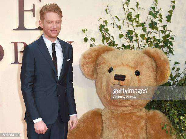 Domhnall Gleeson attends the 'Goodbye Christopher Robin' World Premiere held at Odeon Leicester Square on September 20 2017 in London England