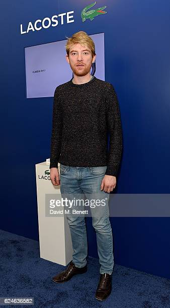 Domhnall Gleeson attends the Lacoste VIP Lounge at ATP World Finals 2016 on November 20 2016 in London England