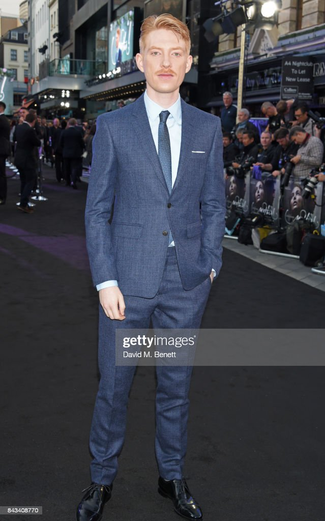 Domhnall Gleeson attends the UK Premiere of 'Mother!' at Odeon Leicester Square on September 6, 2017 in London, England.