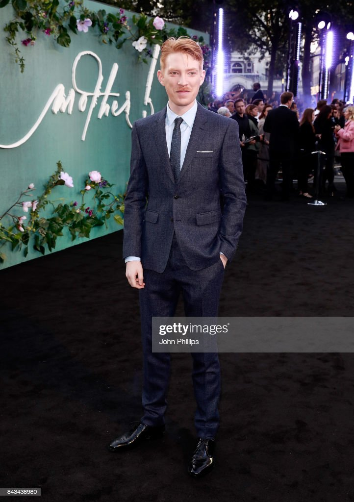 Domhnall Gleeson attends the UK Premiere of 'mother!' at the Odeon Leicester Square on September 6, 2017 in London, England.