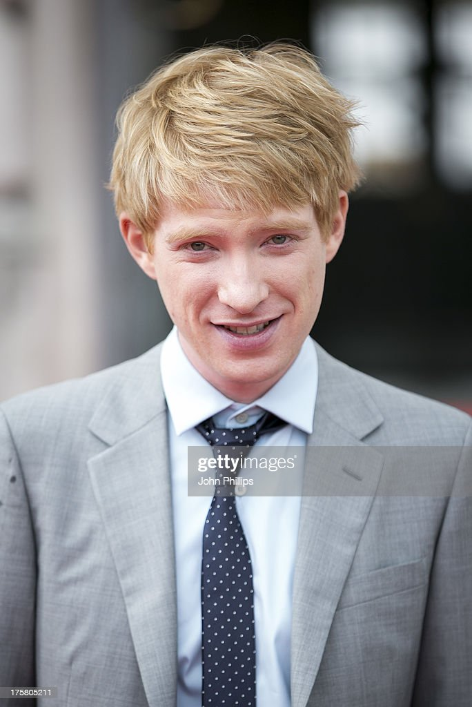 <a gi-track='captionPersonalityLinkClicked' href=/galleries/search?phrase=Domhnall+Gleeson&family=editorial&specificpeople=653261 ng-click='$event.stopPropagation()'>Domhnall Gleeson</a> attends the world premiere of 'About Time' at Somerset House on August 8, 2013 in London, England.