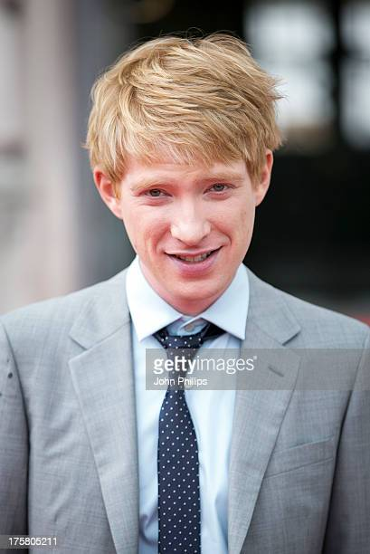 Domhnall Gleeson attends the world premiere of 'About Time' at Somerset House on August 8 2013 in London England