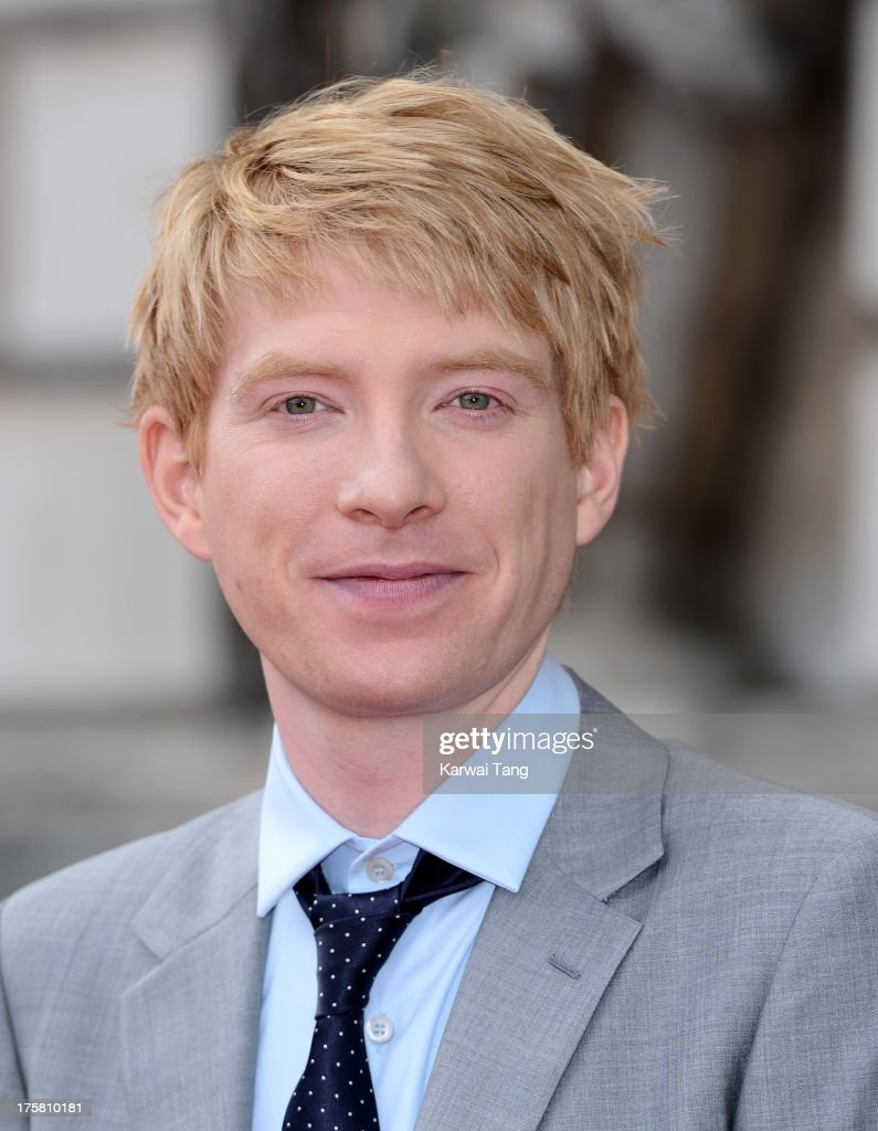 <a gi-track='captionPersonalityLinkClicked' href=/galleries/search?phrase=Domhnall+Gleeson&family=editorial&specificpeople=653261 ng-click='$event.stopPropagation()'>Domhnall Gleeson</a> attends the world premiere of 'About Time' held at Somerset House on August 8, 2013 in London, England.