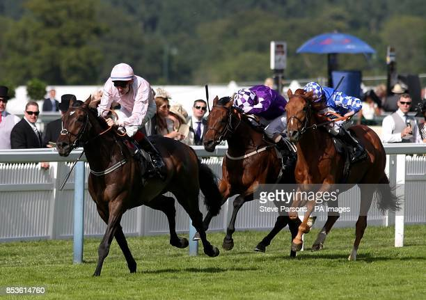 Domination ridden by Fran Berry before winning the Ascot Stakes during Day One of the 2014 Royal Ascot Meeting at Ascot Racecourse Berkshire
