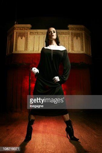 Dominatrix Nun