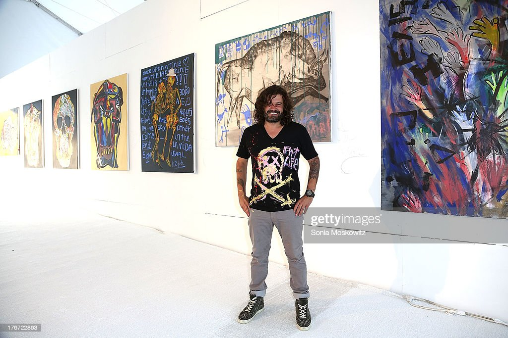 Domingo Zapata attends Domingo Zapata's A Contemporary Salon event on August 17, 2013 in Watermill, New York.