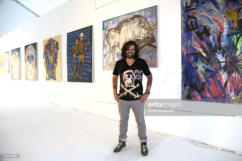 Domingo Zapata attends Domingo Zapata's A Contemporary Salon event on August 17, 2013 in Watermill, New York.