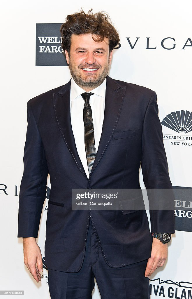 Domingo Zapata attends the 2014 amfAR New York Gala at Cipriani Wall Street on February 5, 2014 in New York City.