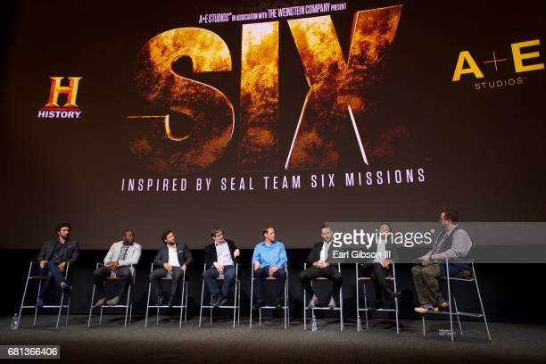 Dominic Adams Edwin Hodge Kyle Schmid Bruce McKenna David Broyles Barry Sloane Walton Goggins and Damian Holbrook speak onstage at the FYC Event for...