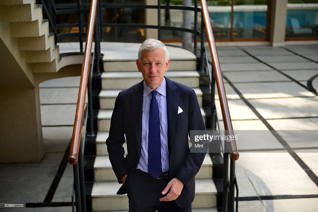 Dominic Barton global managing director of consulting firm McKinsey & Company posing for a profile shoot on October 5, 2015 in New Delhi, India.