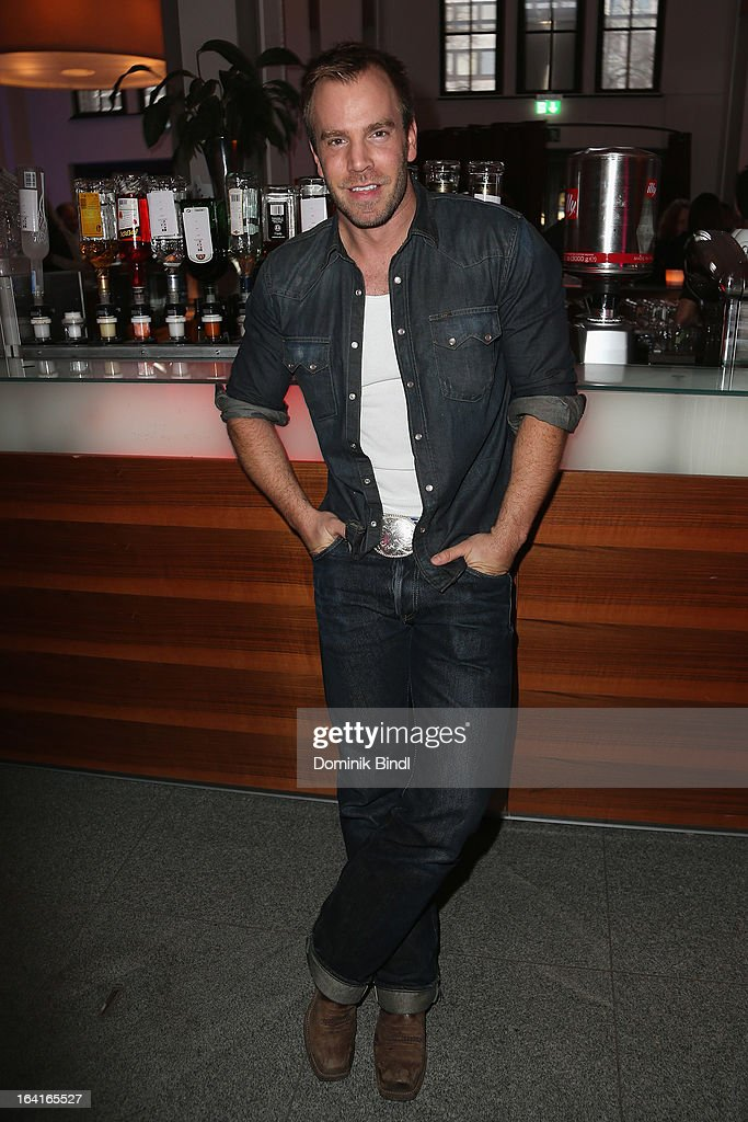 Dominic Boeer attends the Ndf Afterwork Party at 8 Seasons on March 20, 2013 in Munich, Germany.