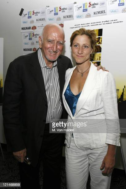Dominic Chianese and Edie Falco during The Great New Wonderful Premiere to Benefit Creative Alternative of New York at Angelika Film Center in New...