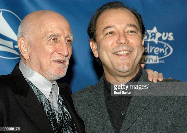 Dominic Chianese and Ruben Blades during New York Chapter of The Recording Academy Celebrates Their 2003 Hero's Awards Gala at The Roosevelt Hotel in...