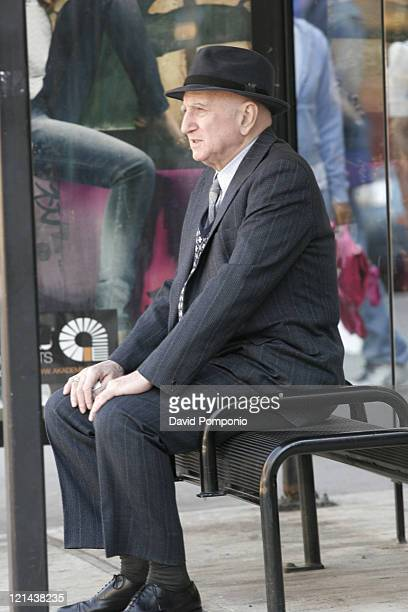 Dominic Chianese during Dominic Chianese on Location for 'The Last New Yorker' March 30 2006 at Chelsea in New York City New York United States