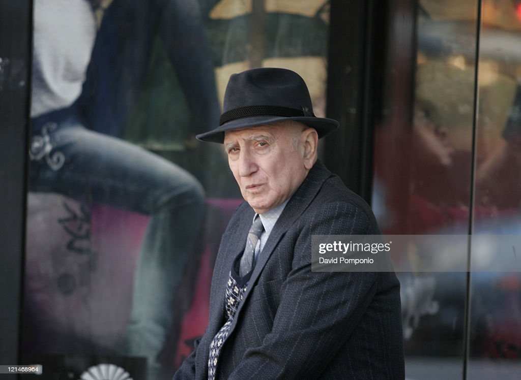 """Dominic Chianese on Location for """"The Last New Yorker"""" - March 30, 2006"""