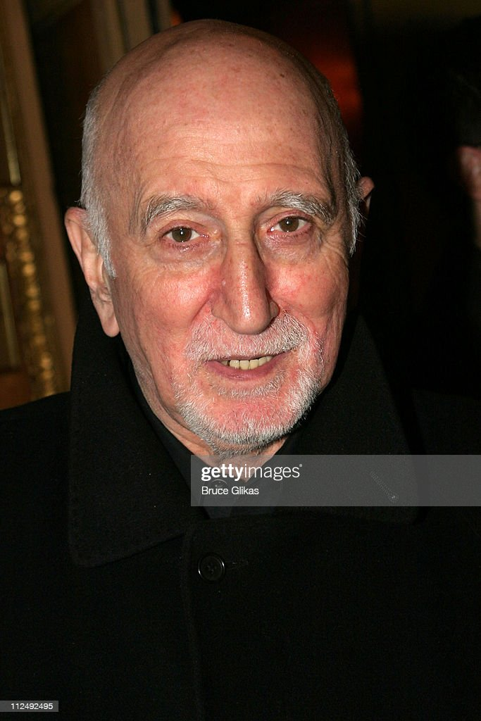 <a gi-track='captionPersonalityLinkClicked' href=/galleries/search?phrase=Dominic+Chianese&family=editorial&specificpeople=175942 ng-click='$event.stopPropagation()'>Dominic Chianese</a> during Opening Night for John Patrick Shanley's 'Doubt' on Broadway at The Walter Kerr Theater and The Supper Club in New York City, New York, United States.