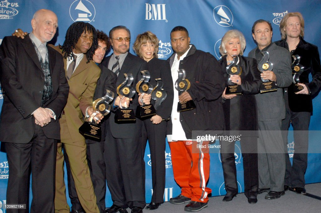 Dominic Chianese, Nile Rodgers, John Oates, Barry Mann, Cynthia Weil, Timbaland, Frances ?? and Daryl Hall