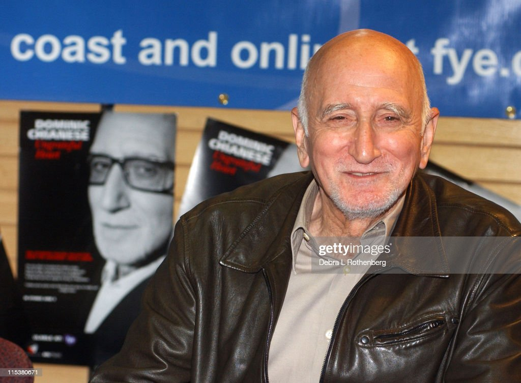 <a gi-track='captionPersonalityLinkClicked' href=/galleries/search?phrase=Dominic+Chianese&family=editorial&specificpeople=175942 ng-click='$event.stopPropagation()'>Dominic Chianese</a> of 'The Sopranos' during CD signing for 'Ungrateful Heart: The Ultimate Italian Collection' at FYE Rockefeller Plaza in New York City, New York, United States.