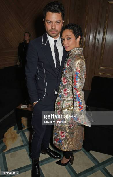 Dominic Cooper and Ruth Negga attend Harper's Bazaar Women of the Year Awards in association with Ralph Russo Audemars Piguet and MercedesBenz at...