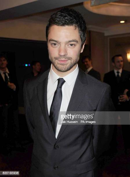 Dominic Cooper arrives for the Laurence Olivier Awards at the Grosvenor Hotel in central London