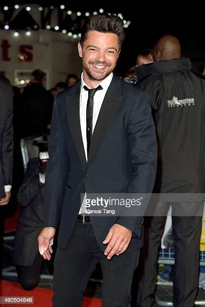 Dominic Cooper attends a screening of 'The Lady In The Van' during the BFI London Film Festival at Odeon Leicester Square on October 13 2015 in...