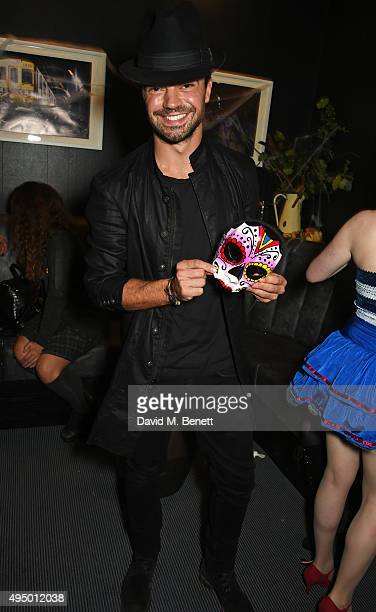 Dominic Cooper attends Hallowzeen at M Restaurant on October 30 2015 in London England
