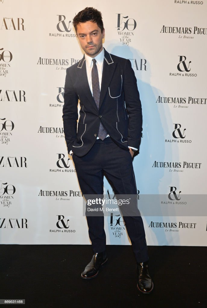 Dominic Cooper attends Harper's Bazaar Women of the Year Awards in association with Ralph & Russo, Audemars Piguet and Mercedes-Benz at Claridge's Hotel on November 2, 2017 in London, England.