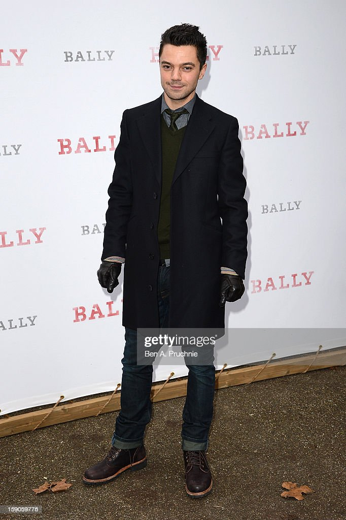 Dominic Cooper attends the 'BALLY Celebrates 60 Years of Conquering Everest' at Bedford Square Gardens on January 7, 2013 in London, England.
