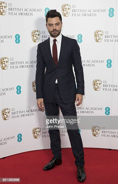 Dominic Cooper attends the nominations for the EE British Academy Film Awards are announced on January 10 2017 in London United Kingdom
