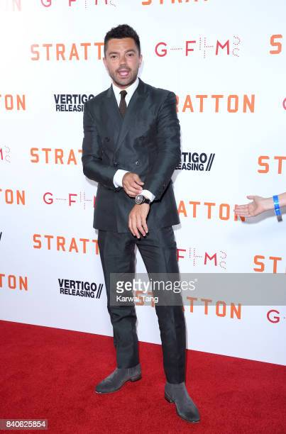 Dominic Cooper attends the 'Stratton' UK Premiere at the Vue West End on August 29 2017 in London England