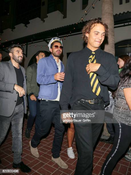 Dominic Cooper Frank Dillane is seen on July 21 2017 in San Diego California