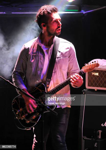 Dominic Craik of Nothing But Thieves performs in support of their new album release 'Broken Machine' at Great American Music Hall on October 16 2017...